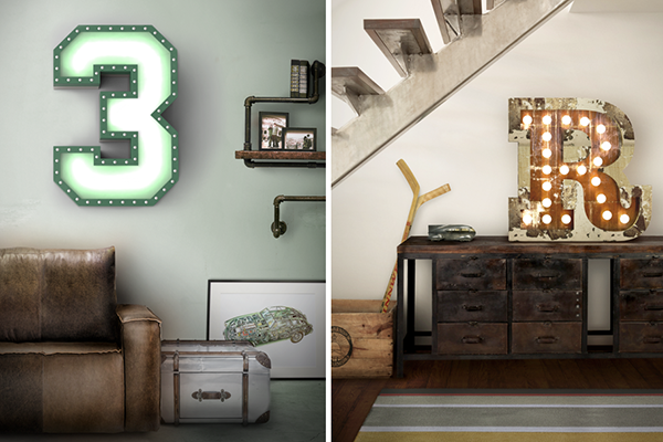 Decoracion Letras Pared ~ Letras, una tendencia para personalizar las paredes Decoraci?n