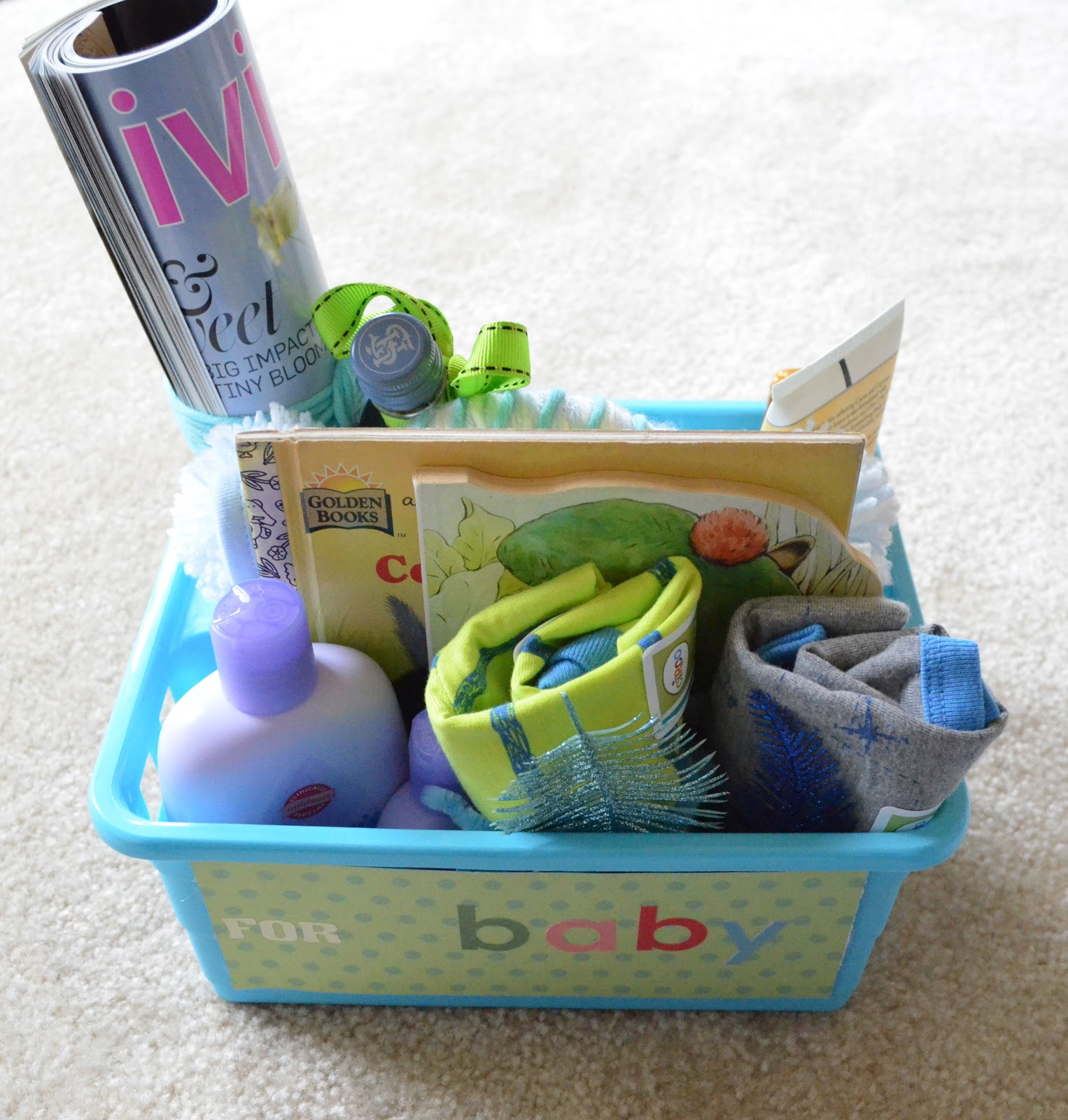 sunny days and other things inexpensive baby shower gift