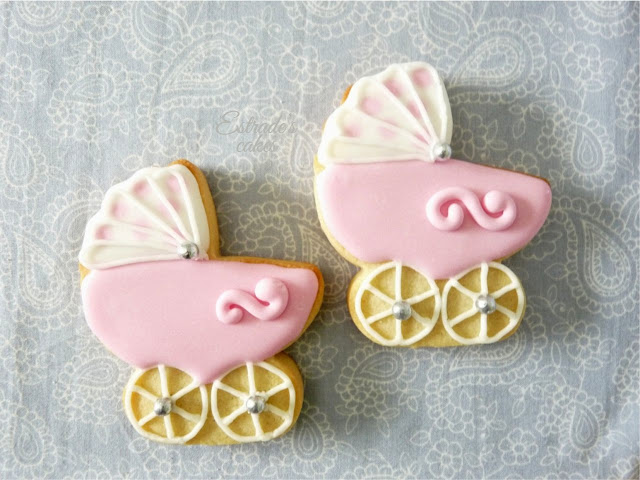 galletas con glasa de carritos - 1