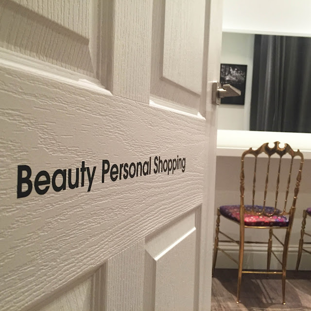 Beauty Personal Shopping at Selfridges charlotte ingam