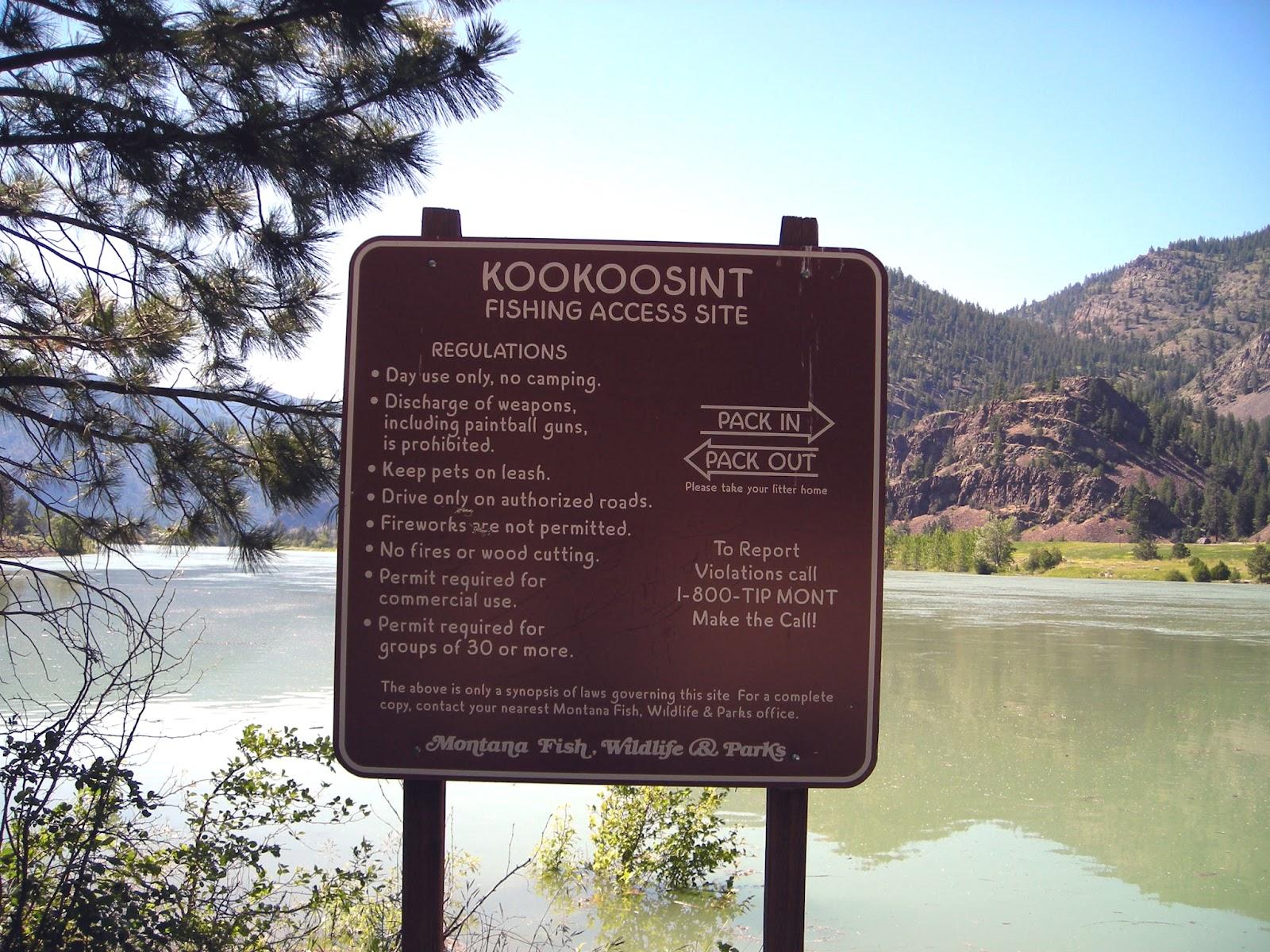Montana sanders county dixon - Koo Koo Sint Boat Launch Is Located Between Dixon And Paradise