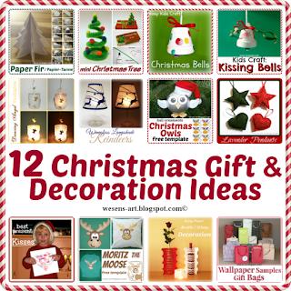 ChristmasIdeas wesens-art.blogspot.com