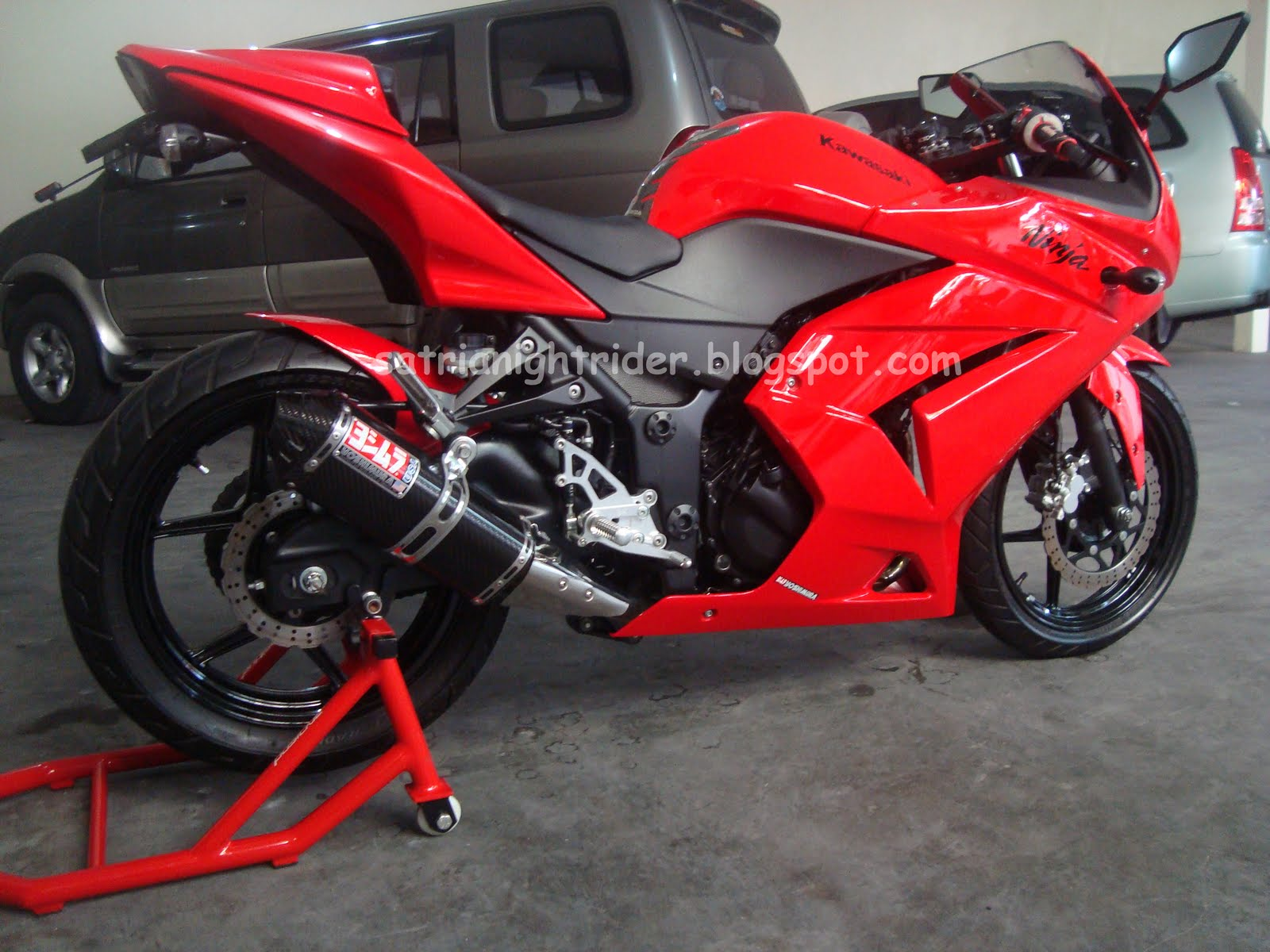 All About My Modifications  Ninja 250r 2009