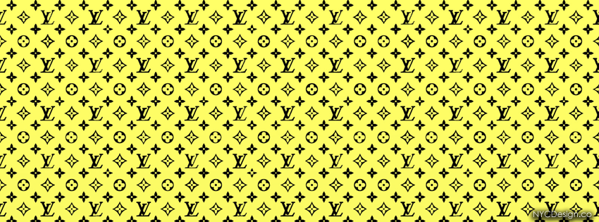 Facebook Covers - FacebookHeaders - Free - Louis Vuitton - LV - Yellow