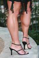 her calves muscular legs