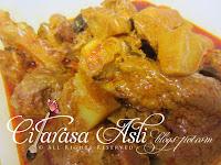 Roti Jala + Kari Ayam