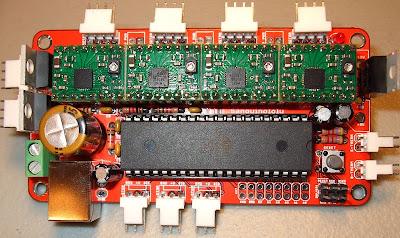 Sanguinololu 3D Printer Kontrol Kartı