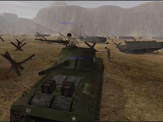 Battlefield 1942 PC Game Screen Shot, Wallpapers