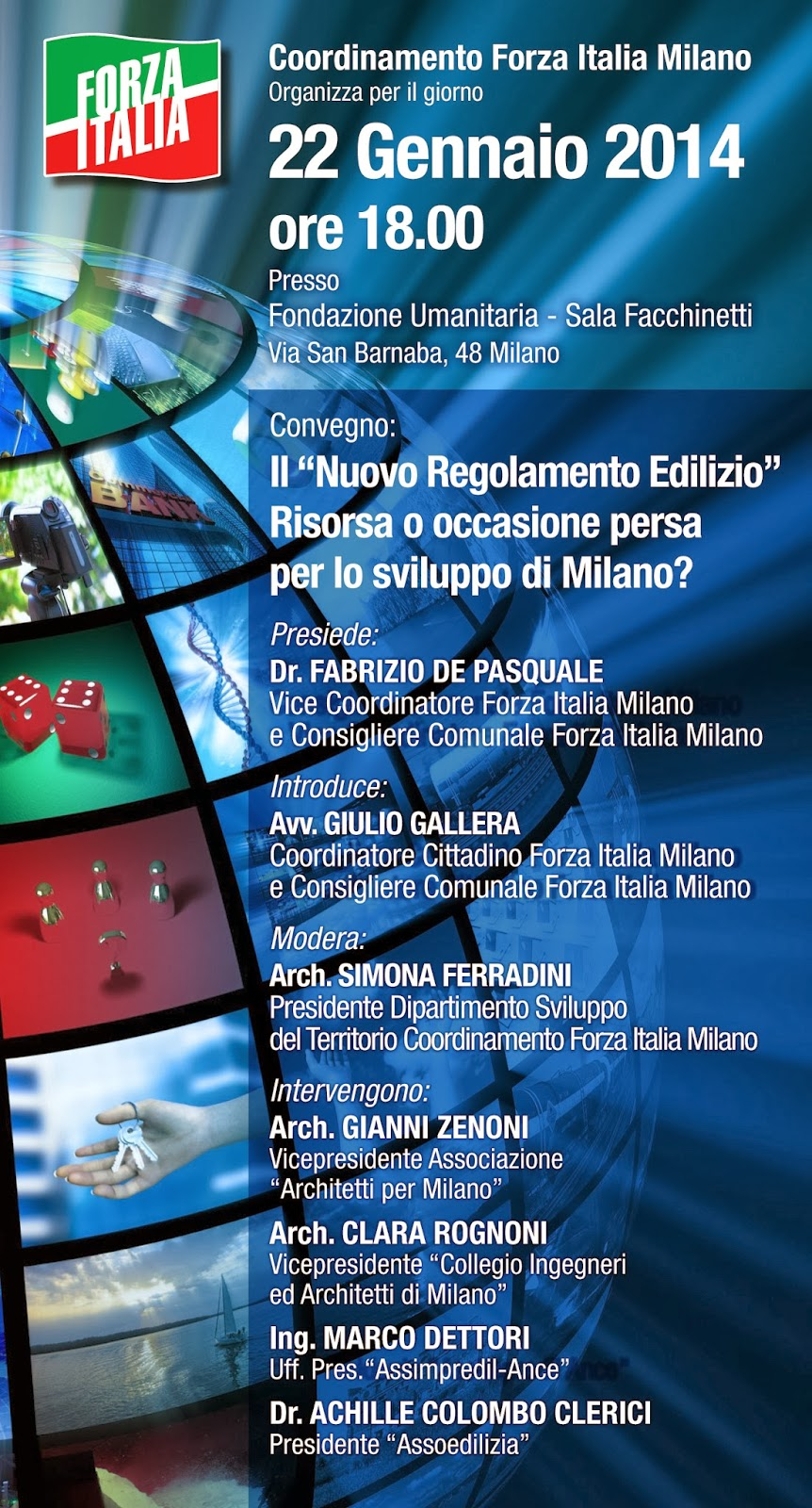 Casa milano italia conferenza sul nuovo regolamento for Regolamento igiene milano