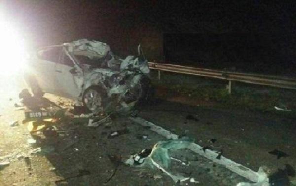 Mengantuk, Punca Suami Isteri Maut Dalam Kemalangan di LPT