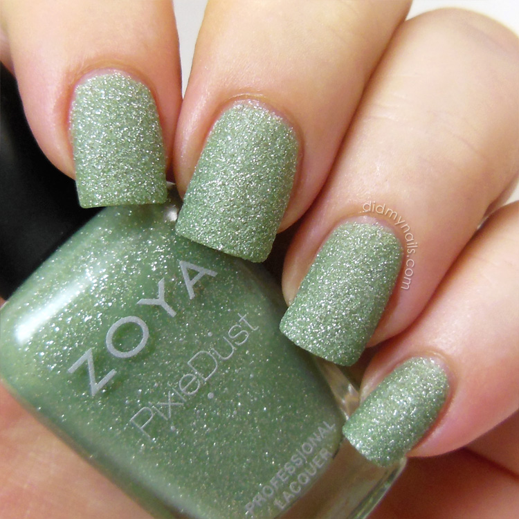 Did My Nails: Zoya Pixie Dust: Vespa and London