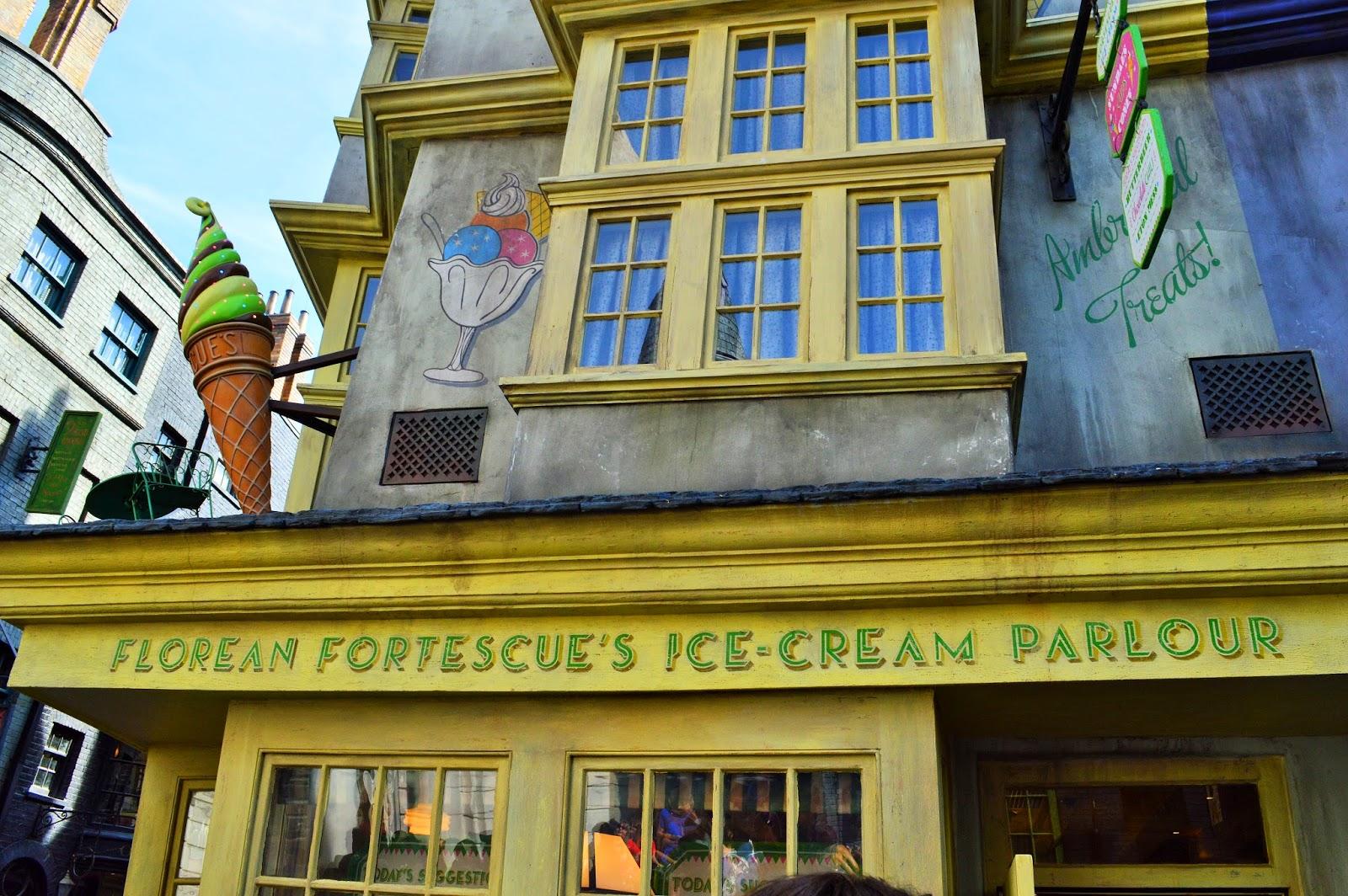 Florean Fortescue Ice-Cream Parlour Treats