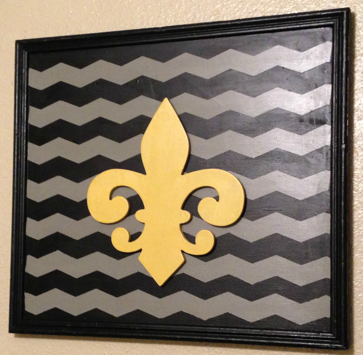 Chevron Wall Art - Craft Dictator