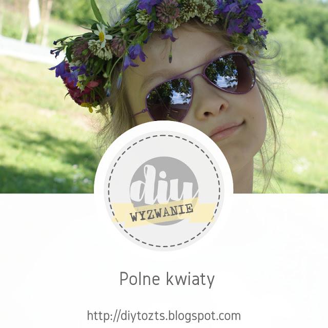 Wyzwanie DIY Polne kwiaty