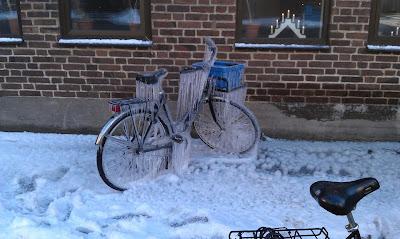Bicicleta congelada
