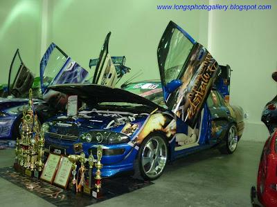 Wira Mivec bodykit autoshow