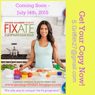 fixate, 21 day fix extreme, 21 day fix, fixate cookbook, 21 day fix cookbook, 21 day fix recipes, sarah griffith, top beachbody coach state college,