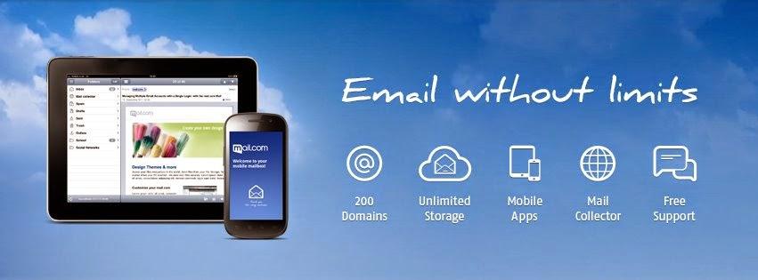أحصل على عنوان بريد إلكتروني راقي  mail.com@ وفاجئ اصدقائك
