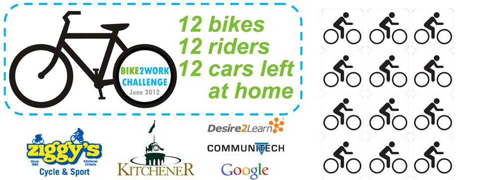 Bike2Work 2012 Challenge!