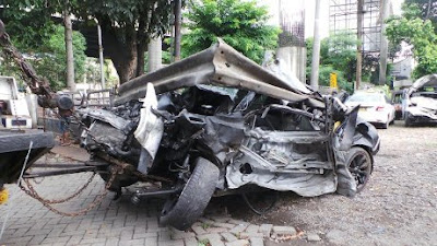 Video Kecelakaan Dul Anak Ahmad Dhani