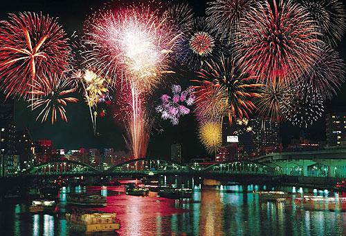 Hanabi (Sumidagawa Hanabi Taikai) Fête des feux d'artifices 00
