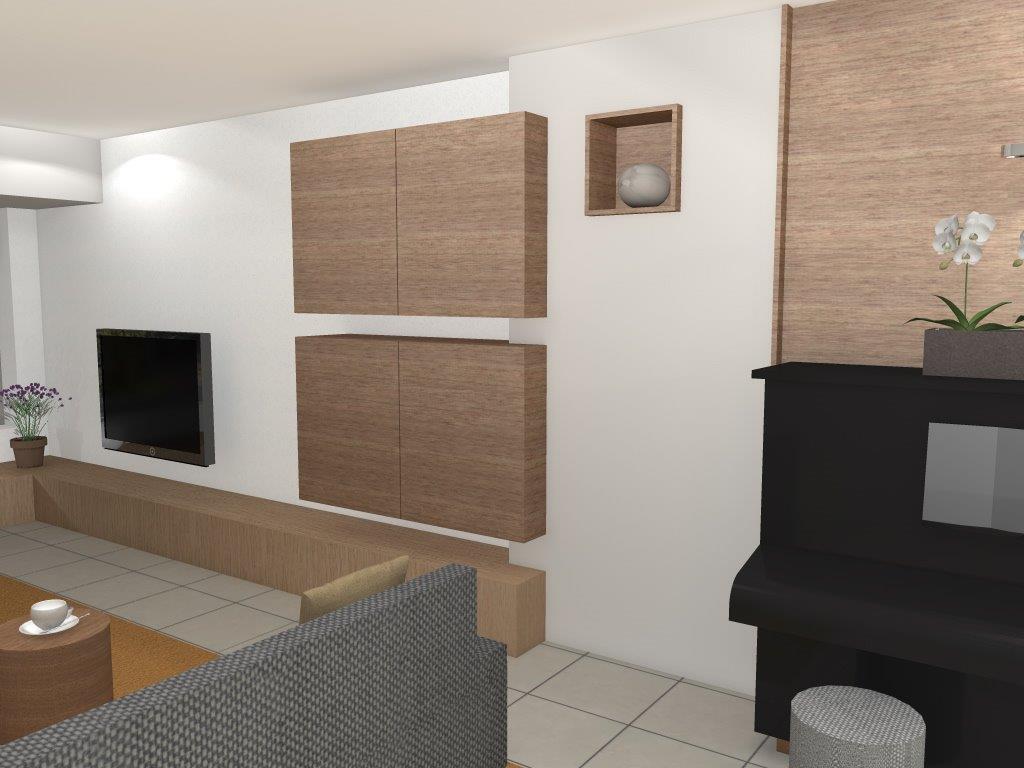 Woonkamer keuken ontwerpen: kersenhouten keuken ontwerpen ...