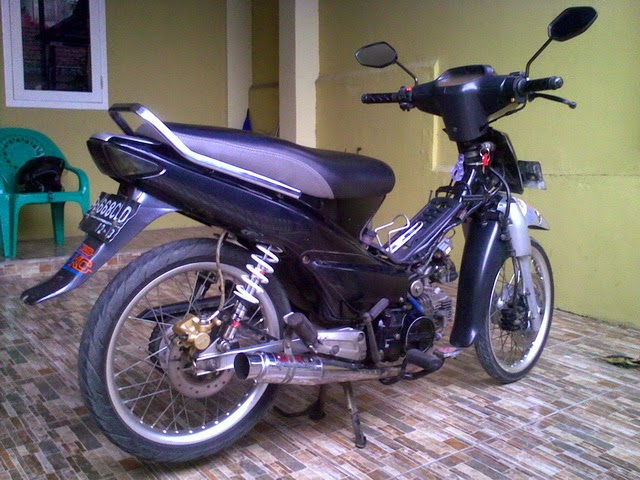modifikasi honda supra fit 2005