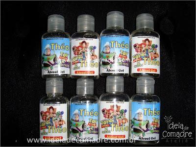 alcool gel personalizado toy story