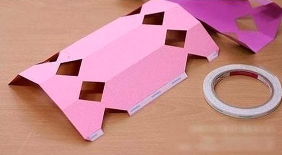 how to make a paper knife without tape