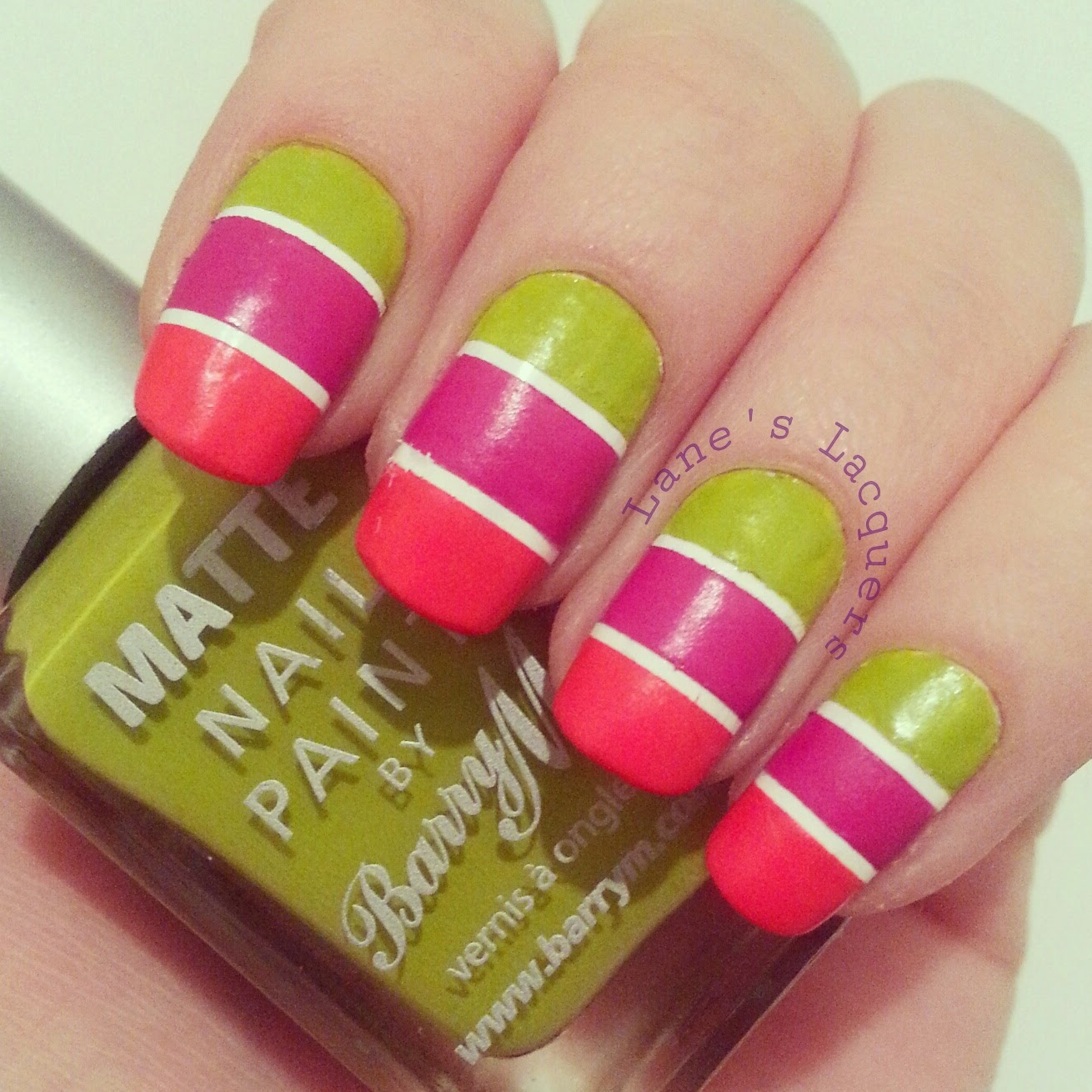 barry-m-summer-matte-trio-tape-nail-art (1)