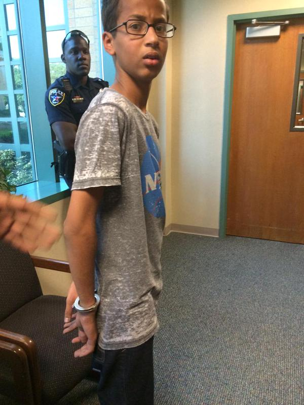 Sacerdotus: 14 yr Old Muslim Arrested For Making A Clock