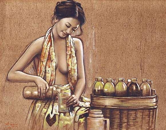 Wanita dalam lukisan realisme