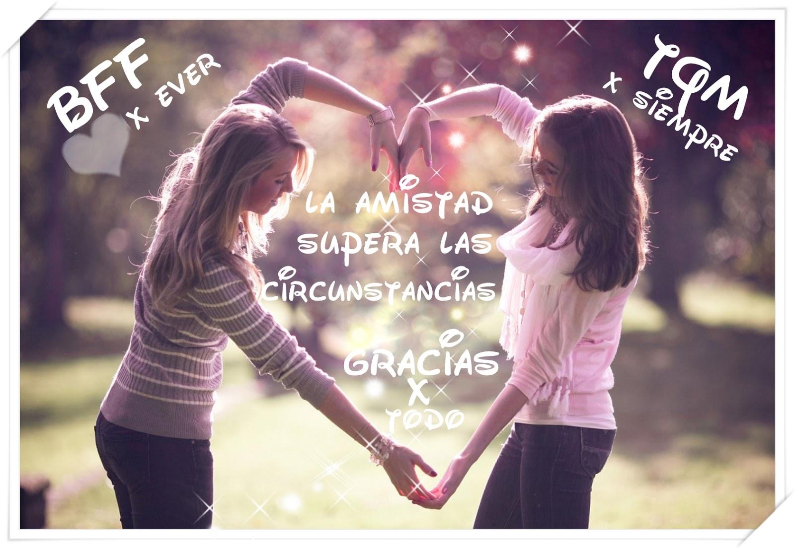 La amistad supera las circunstancias