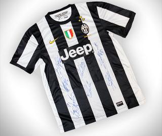 Konkurs koszulka Juventusu Turyn z autografami