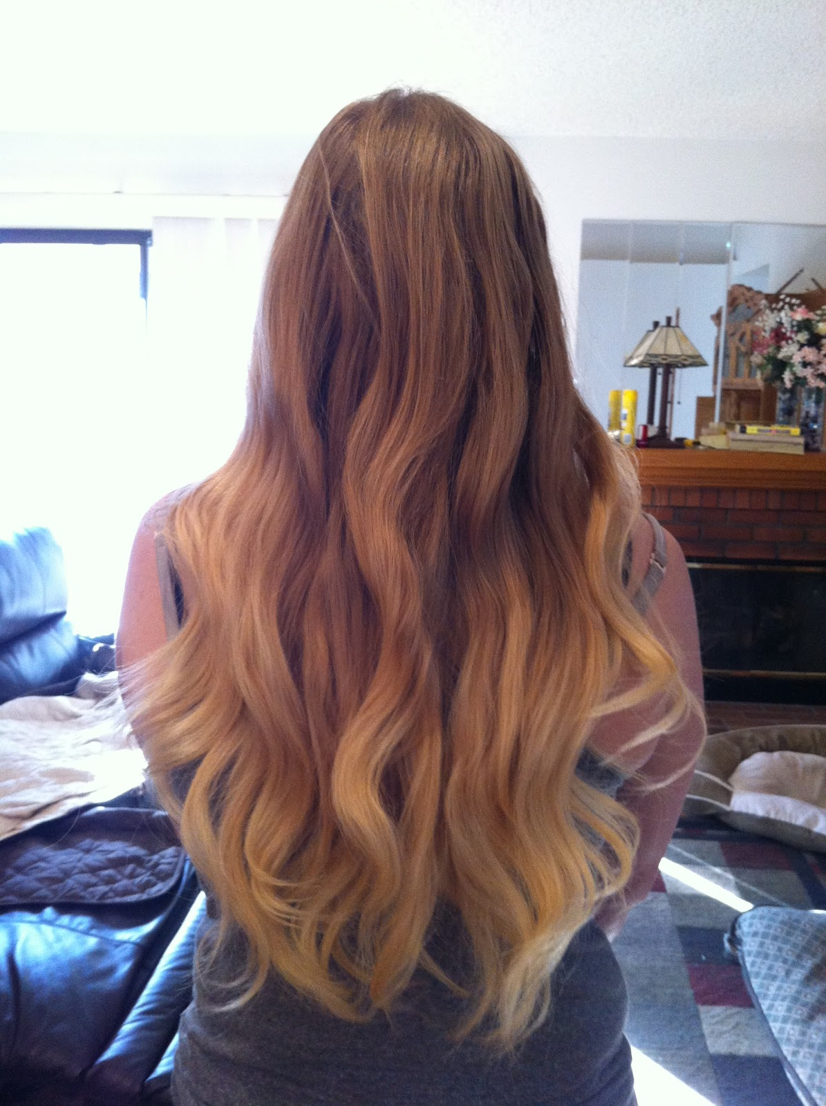 Stephanie S Look Diy Blonde Ombre From Blonde To