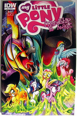 MLP:FiM comic #4, Andy Price RI cover