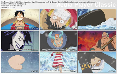 Download Film One Piece Episode 593 (Menyelamatkan Nami! Pertarungan Luffy di Gunung Bersalju!) Bahasa Indonesia