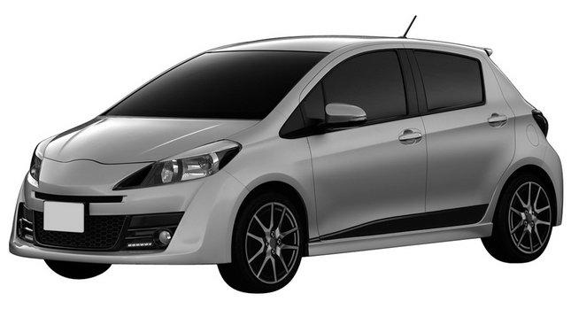 car design scoop scoop et dernieres infos automobile nouvelle toyota yaris ts 2011 sport. Black Bedroom Furniture Sets. Home Design Ideas