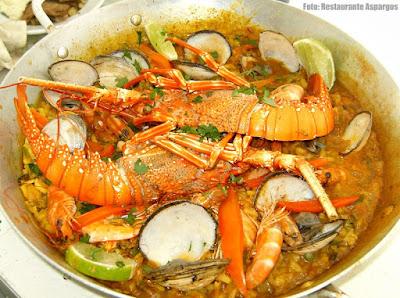 Restaurante Aspargos: Paella de Mariscos