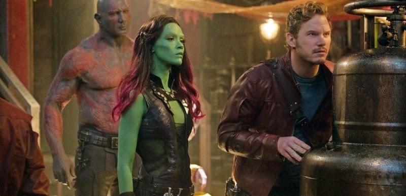 Guardiões da Galáxia | Drax, Peter Quill, Gamora, Yondu e o verdadeiro Rocket Raccoon em imagens inéditas