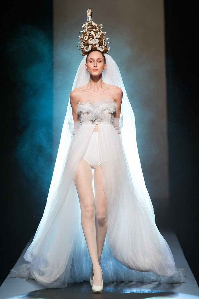 Jean Paul Gaultier in Spring 2015 Couture 2
