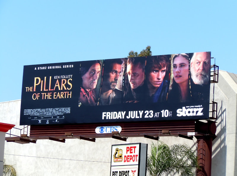 Pillars of the Earth billboard
