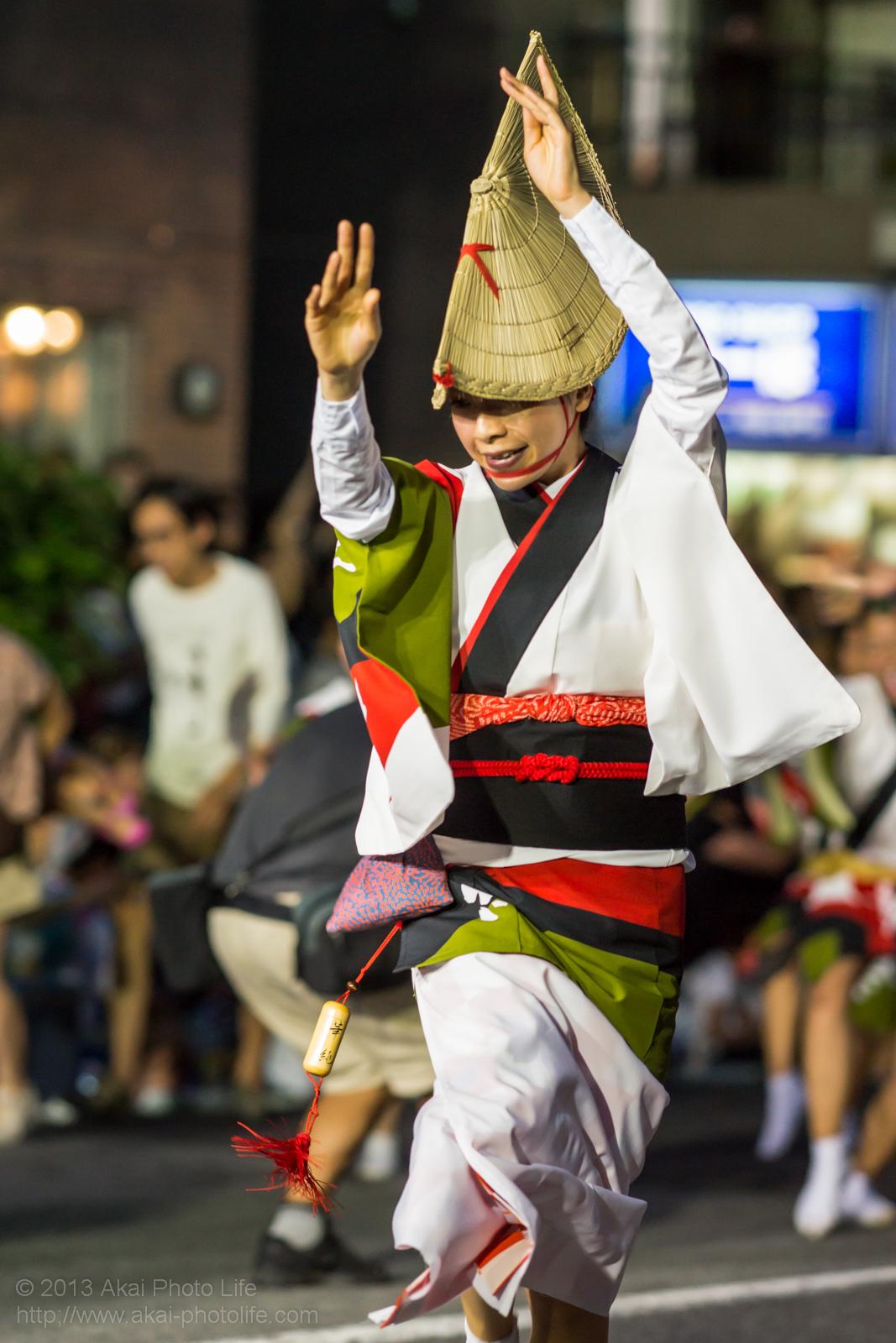 高円寺阿波踊り 華純連の女踊り