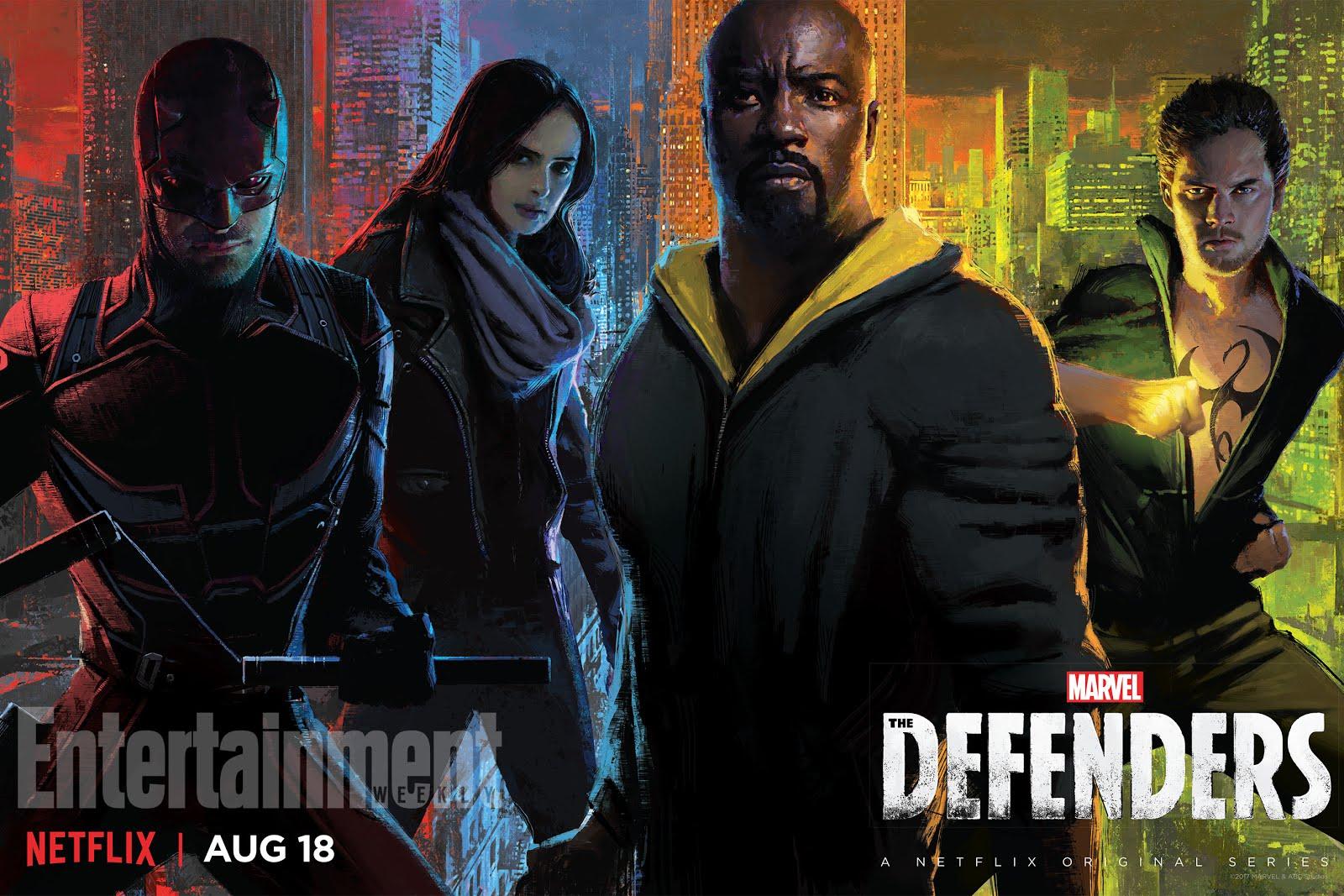 """""""Defenders"""" Arrives On NetFlix on 8/18/17"""