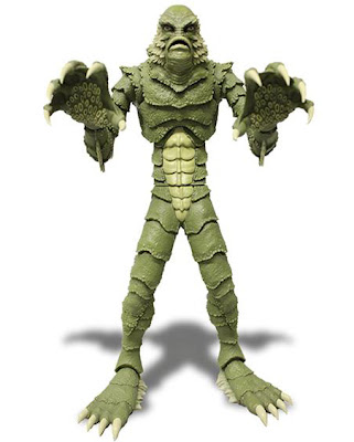 "Mezco 9"" Creature From the Black Lagoon Universal Monsters figure"