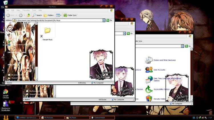 [Theme Win Xp] Diabolik Lovers 2