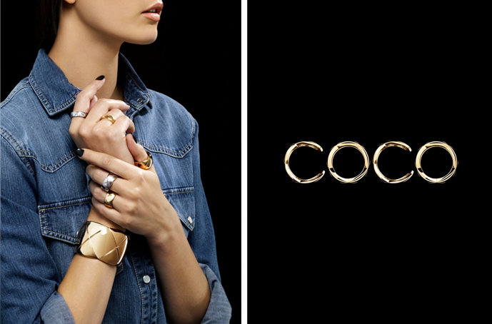 Chanel exlcusive jewellery collection with net-a-porter available online / Coco Crush Chanel campaign / via fashioned by love british fashion blog