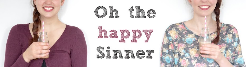 Oh the happy sinner