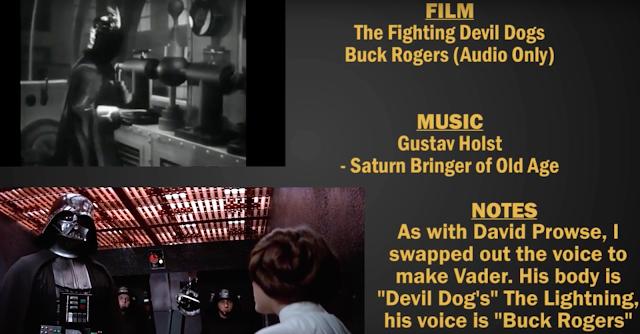Star Wars ohne eine original Szene oder Sound nacherzählt
