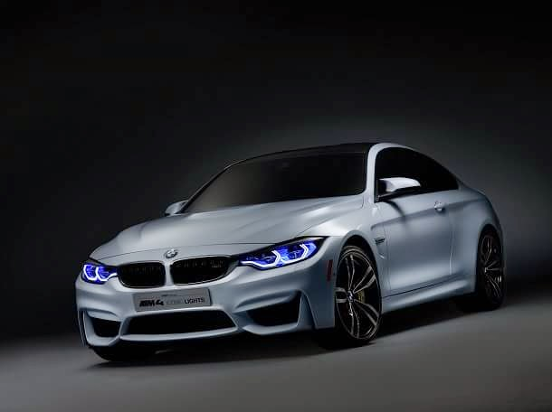 BMW M4 OLED
